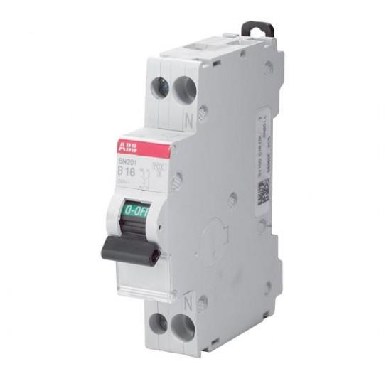 Intrerupator automat 1P+N 16A - ABB SN201L C16
