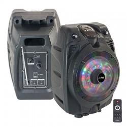 "BOXA PORTABILA ILUMINATA LED 6""/15CM 50W RMS CU USB/SD/BT/FM"