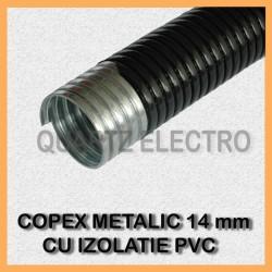 COPEX METALIC CU INVELIS PVC 14mm