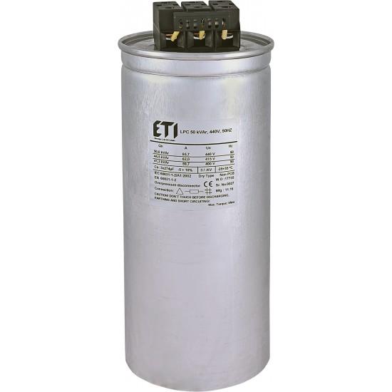 CONDENSATOR 50 kVAr, 440V, 3x274,0uF, 50Hz