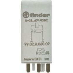 MODUL DE INDICARE SI PROTECTIE EMC FINDER 99.02.9.060.09