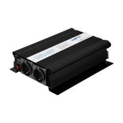 INVERTOR DE TENSIUNE 12V-220V, 1000W, USB WELL