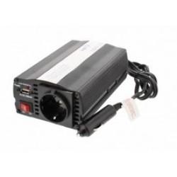 INVERTOR DE TENSIUNE 24V - 220V, 150W, USB WELL