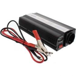 INVERTOR DE TENSIUNE 12V -220V, 600W, USB WELL