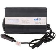 INVERTOR DE TENSIUNE 12V - 220V, 150W, USB WELL