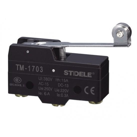 INTRERUPATOR LIMITATOR CU ROLA 15A 125, 250, 480V AC TM-1703