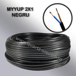 MYYUP 2x1mm NEGRU
