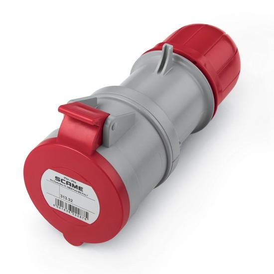 Priza industriala SCAME 32A 3P+E 380V-415V IP44 313.3246