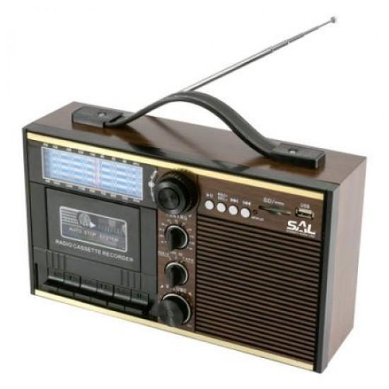 RADIO RETRO CU CASETA, USD SI SD HOME RRT 11B