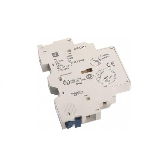 BLOC DE CONTACTE AUXILIAR TESYS GVAN11 1NO+1NC SCHNEIDER ELECTRIC