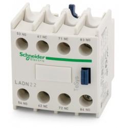 BLOC DE CONTACTE AUXILIAR TESYS LADN22 2NO+2NC SCHNEIDER ELECTRIC