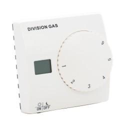 TERMOSTAT MECANIC CU AFISAJ DIVISION GAS